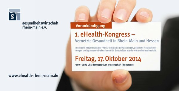 Demoskopia am 1. eHealth Kongress in Darmstadt